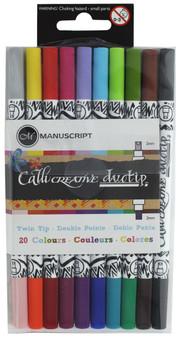 Manuscript Callicreative Marker Duotip 2 Color 10pc