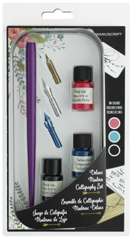 Manuscript Dip Pen Deluxe Modern Calligraphy Ink Set