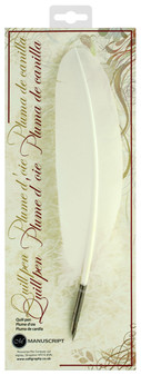 Manuscript Dip Pen Quill Ivory