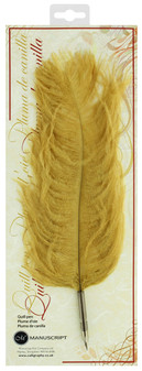 Manuscript Dip Pen Decorative Quill Pen Gold
