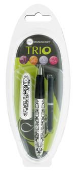 Manuscript Cartridge Pen Trio Italic Assortment