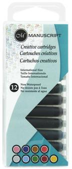 Manuscript Cartridge Pen Creative Cartridges 12pc