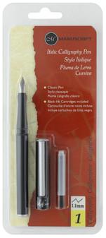 Manuscript Cartridge Pen Italic Calligraphy Pen 1.1mm
