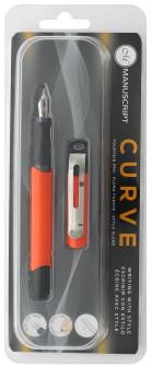 Manuscript Cartridge Pen Curve Fountain Pen Orange