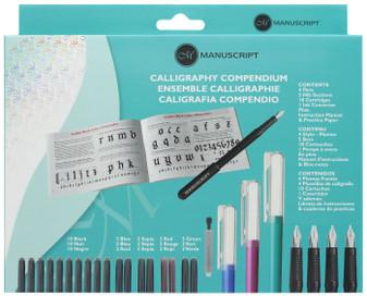 Manuscript Cartridge Pen Calligraphy Compendium