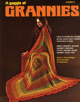 Leisure Arts Crochet a Gaggle of Grannies - Digital Pattern
