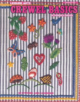 Leisure Arts Crewel Basics Stitchery - Digital Pattern