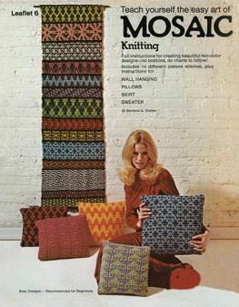 Leisure Arts Teach Yourself the Easy Art of Mosaic Knitting - Digital Pattern