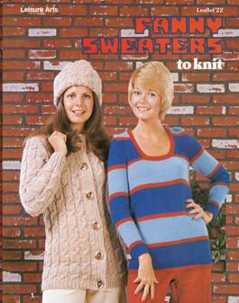 Leisure Arts Fanny Sweaters to Knit - Digital Pattern
