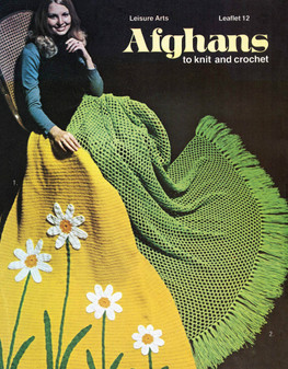 Leisure Arts Afghans to Knit and Crochet - Digital Pattern