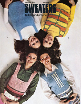 Leisure Arts Sweaters to Knit and Crochet - Digital Pattern