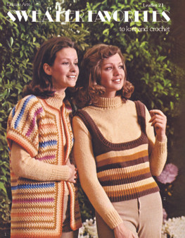 Leisure Arts Sweater Favorites to Knit and Crochet - Digital Pattern