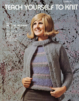Leisure Arts Teach Yourself to Knit - Digital Pattern
