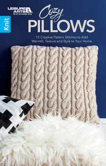 eBook Leisure Arts Cozy Pillows Knit