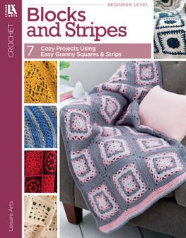 eBook Leisure Arts Blocks & Strips Crochet