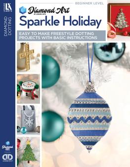 Leisure Arts Diamond Art Sparkle Holiday Book
