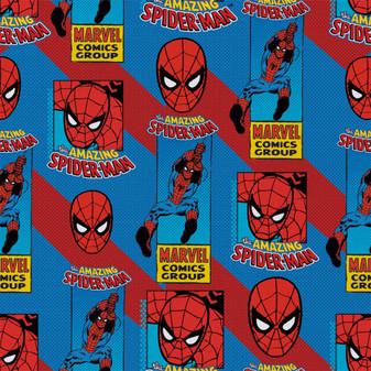 Marvel Fat Quarter Spidey 6pc
