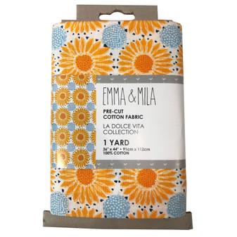 Emma & Mila Precut Yard Sunflower 4pc