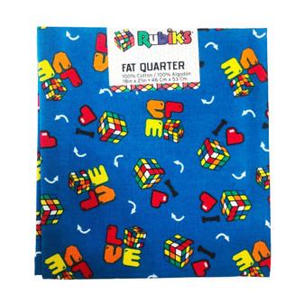 Rubiks Fat Quarter Love 6pc