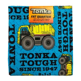 Tonka Fat Quarter Truck Tough 6pc