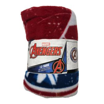 "Precut 54""x 60"" Marvel Avengers Shield 2pc"