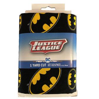 DC Comics Precut Yard Batman Logo Toss 4pc