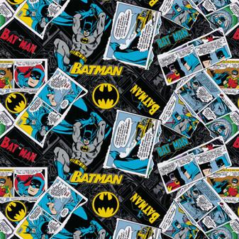 DC Comics Precut 2yd Batman Collage