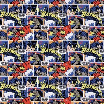 DC Comics Precut 2yd Batman Color