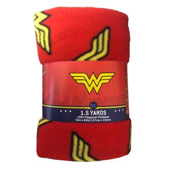 """Precut 54""""x 60"""" Wonder Woman 2pc"""