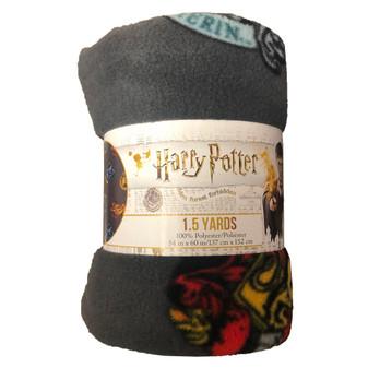 """Precut 54""""x 60"""" Harry Potter Crest 2pc"""