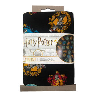 Harry Potter Precut Yard School Crest 4pc