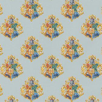 Harry Potter Precut 2yd Watercolor Crest Blue
