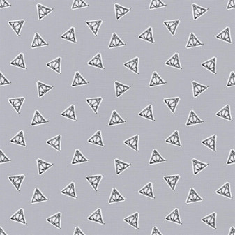 Harry Potter Precut 2yd Watercolor Deathly Hollows Tossed