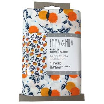 Emma & Mila Precut Yard Oranges 4pc