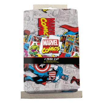 Marvel Precut Yard Superimposed Characters 4pc