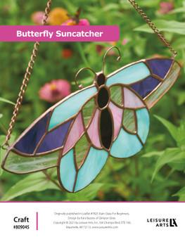 ePattern Stained Glass Butterfly Suncatcher
