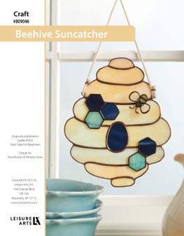 ePattern Stained Glass Beehive Suncatcher