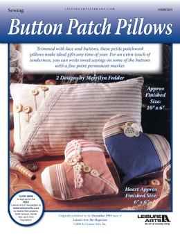 ePattern Button Patch Pillows