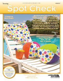 ePattern Spot Check Pillow & Throw