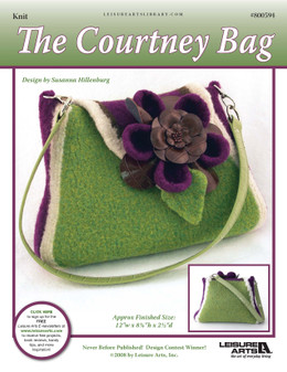 ePattern The Courtney Bag Knit Purse Pattern