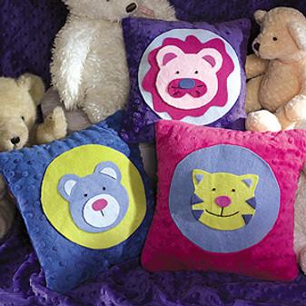 ePattern Animal Pillows