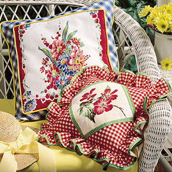ePattern Floral Delight Pillows