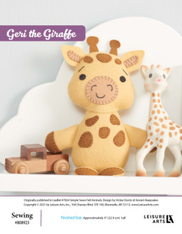 ePattern Geri the Giraffe