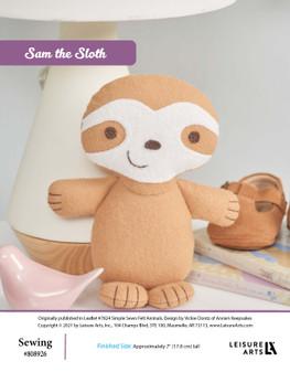 ePattern Sam the Sloth