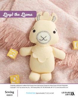 ePattern Lloyd the Llama