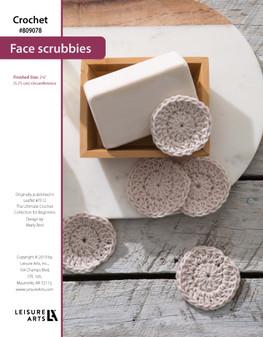 ePattern Crochet Face Scrubbie