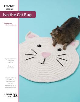 ePattern Crochet Ivan the Cat Rug