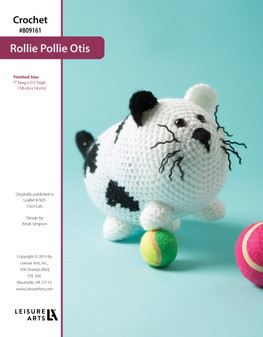 ePattern Crochet Rollie Pollie Otis the Cat