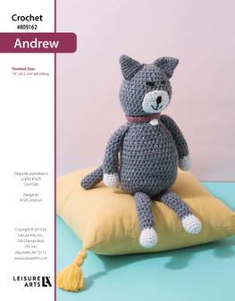 ePattern Crochet Andrew the Cat