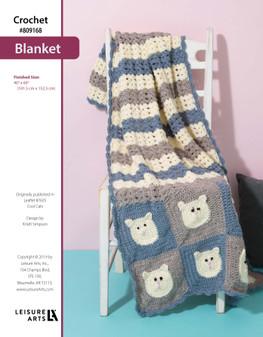 ePattern Crochet Cat Blanket